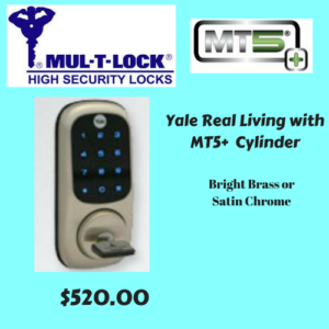 Yale Real Living With MT5+ Cylinder