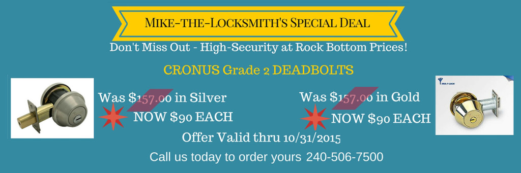 locksmith Montgomery County MD