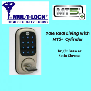 Yale Real Living With Mul-T-Lock MT5+ Cylinder