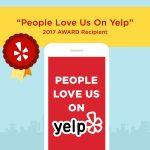 2017 Yelp Award