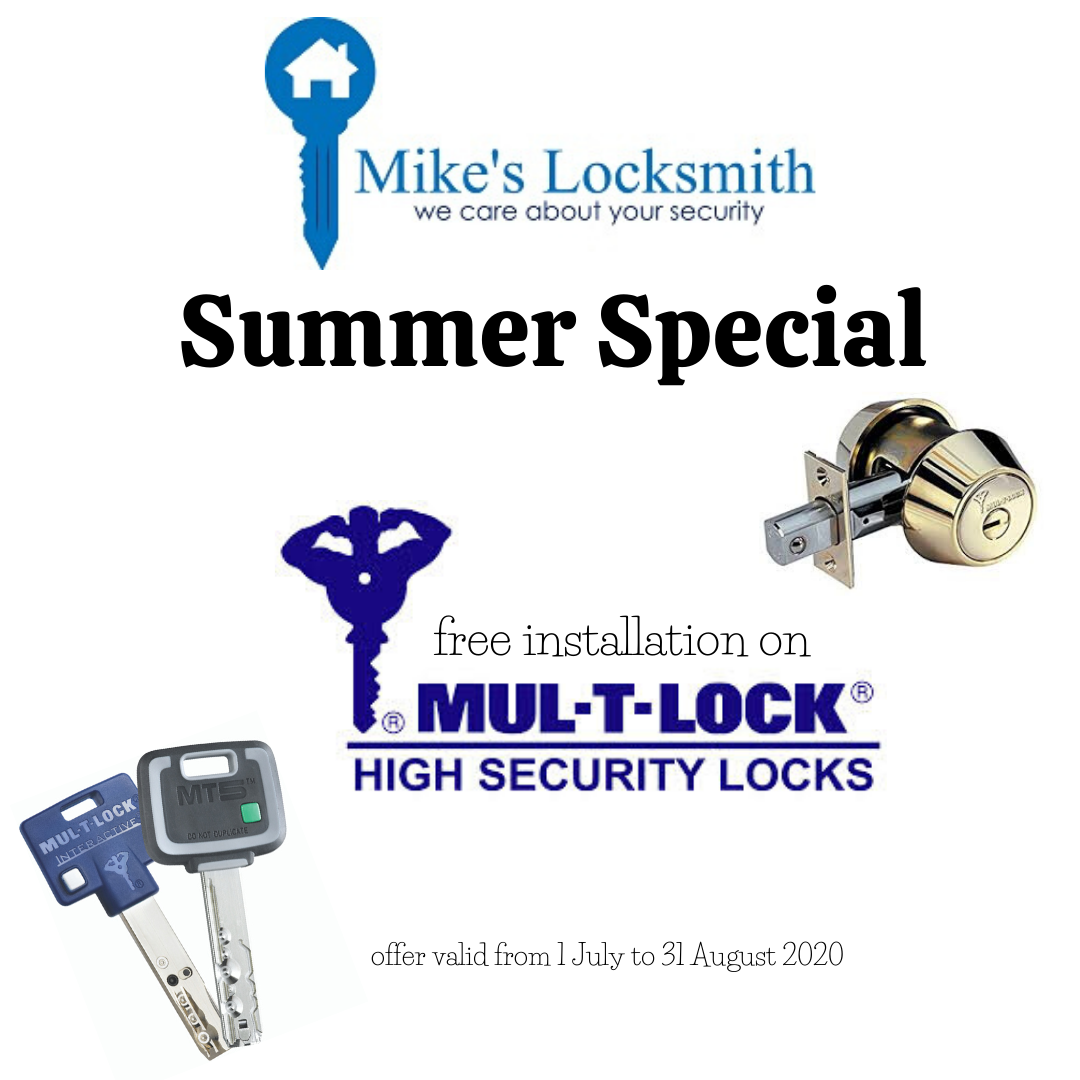 Summer Special – Free Installation On Mul-T-Lock